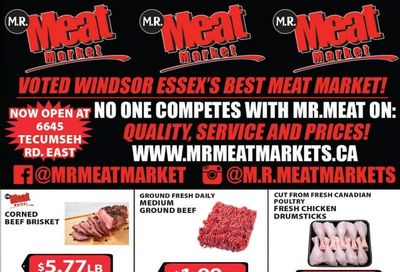 M.R. Meat Market Flyer March 13 to 20