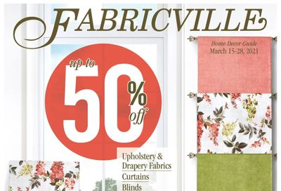 Fabricville Flyer March 15 to 28
