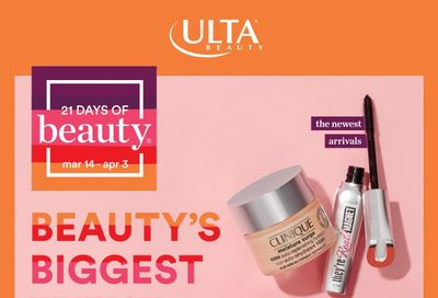 Ulta Beauty Weekly Ad Flyer March 14 to April 3
