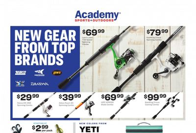 Academy Sports Weekly Ad Flyer March 15 to March 21