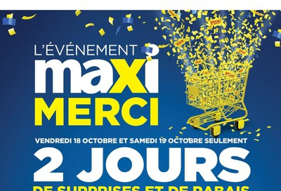 Maxi Flyer October 17 to 23