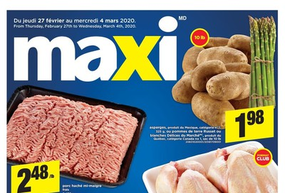 Maxi Flyer February 27 to March 4