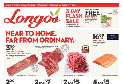 Longo's Flyer October 16 to 22
