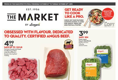 The Market by Longo's Flyer October 16 to 22