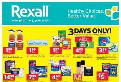Rexall (ON) Flyer February 28 to March 5