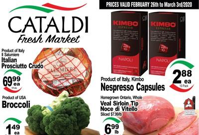 Cataldi Fresh Market Flyer February 26 to March 3
