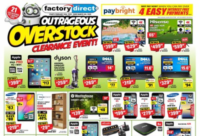 Factory Direct Flyer February 26 to March 4