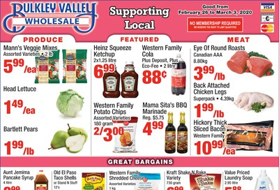 Bulkley Valley Wholesale Flyer February 26 to March 3