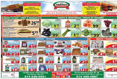 Akhavan Supermarche Flyer February 26 to March 3