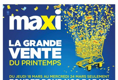 Maxi Flyer March 18 to 24