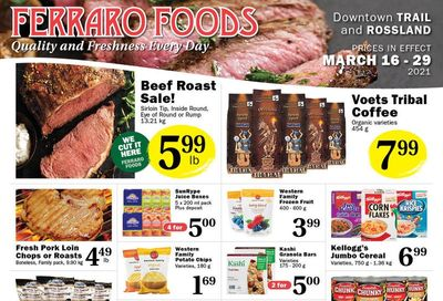 Ferraro Foods Flyer March 16 to 29