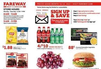 Fareway (IA, IL, MN, MO, NE, SD) Weekly Ad Flyer March 16 to March 22
