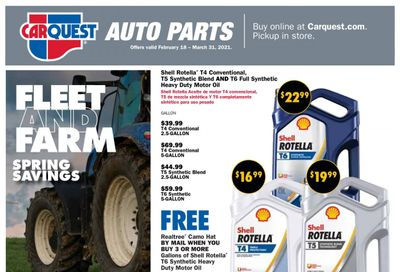 Carquest Weekly Ad Flyer March 18 to March 31