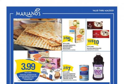 Mariano's Weekly Ad Flyer March 17 to April 4