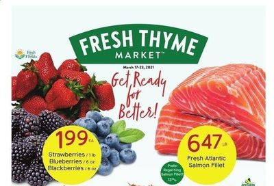Fresh Thyme Weekly Ad Flyer March 17 to March 23