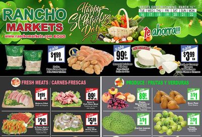 Rancho Markets Weekly Ad Flyer March 16 to March 22