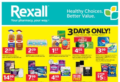 Rexall (West) Flyer February 28 to March 5