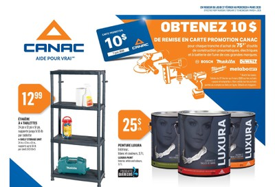 Canac Flyer February 27 to March 4