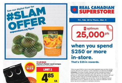 Real Canadian Superstore (West) Flyer February 28 to March 5