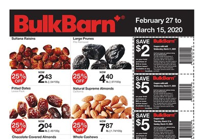 Bulk Barn Flyer February 27 to March 15