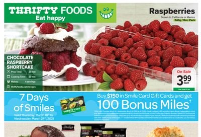 Thrifty Foods Flyer March 18 to 24
