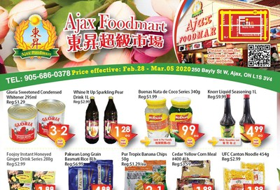 Ajax Foodmart Flyer February 28 to March 5