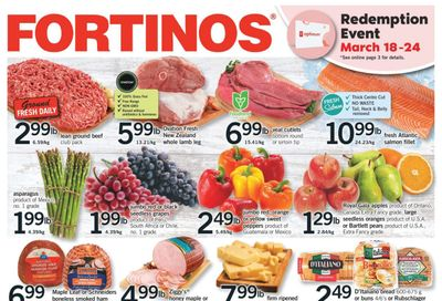 Fortinos Flyer March 18 to 24