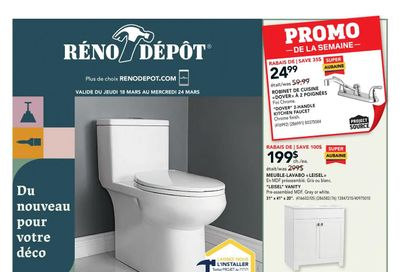 Reno Depot Flyer March 18 to 24