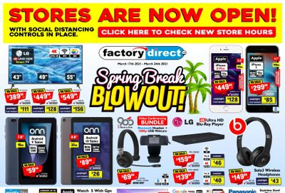 Factory Direct Flyer March 17 to 24