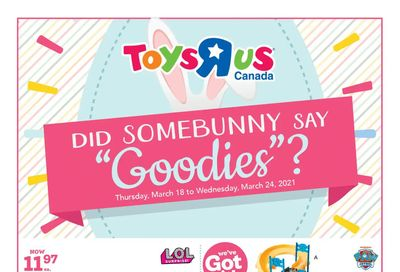 Toys R Us Flyer March 18 to 24