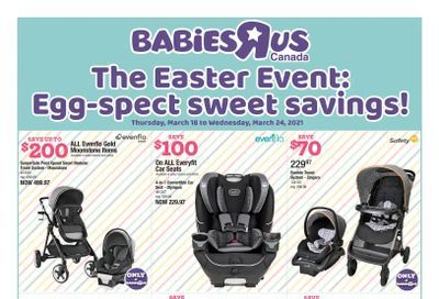 Babies R Us Flyer March 18 to 24