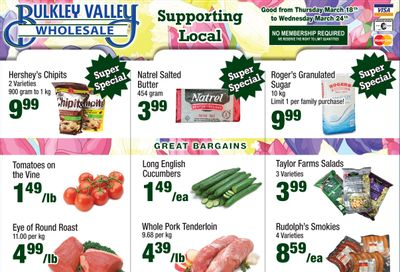 Bulkley Valley Wholesale Flyer March 18 to 24