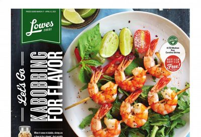 Lowes Foods Weekly Ad Flyer March 17 to April 13