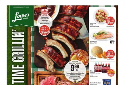 Lowes Foods Weekly Ad Flyer March 17 to March 23