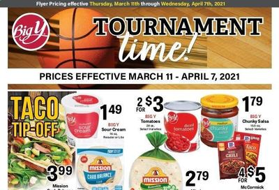Big Y (CT, MA) Weekly Ad Flyer March 11 to April 7