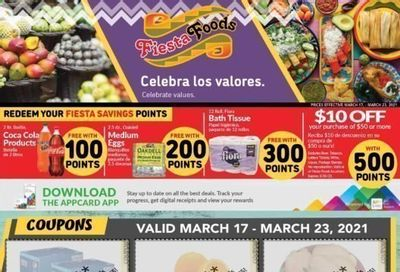Fiesta Foods SuperMarkets Weekly Ad Flyer March 17 to March 23