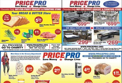 Price Pro Flyer March 17 to 23