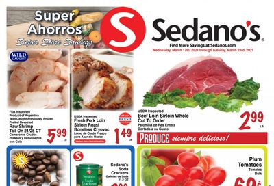 Sedano's (FL) Weekly Ad Flyer March 17 to March 23