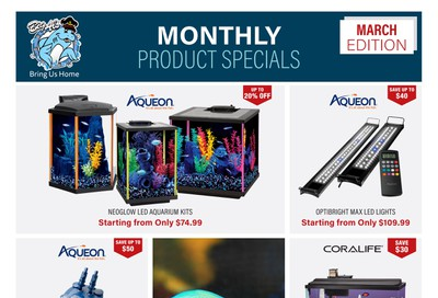 Big Al's Monthly Product Specials March 1 to 31