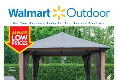 Walmart Outdoor Flyer March 18 to April 21