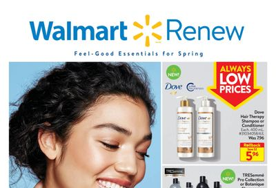 Walmart Renew Flyer March 18 to April 14