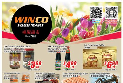 WinCo Food Mart (HWY 7) Flyer March 18 to 24