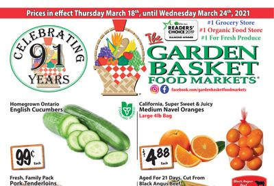 The Garden Basket Flyer March 18 to 24