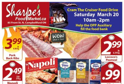 Sharpe's Food Market Flyer March 18 to 24