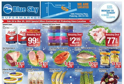 Blue Sky Supermarket (Pickering) Flyer February 28 to March 5