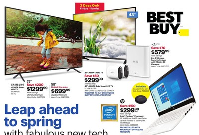 Best Buy Flyer February 28 to March 5
