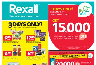 Rexall (West) Flyer March 19 to 25