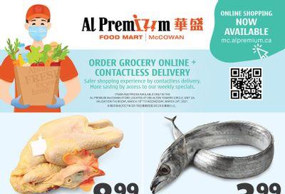 Al Premium Food Mart (McCowan) Flyer March 18 to 24