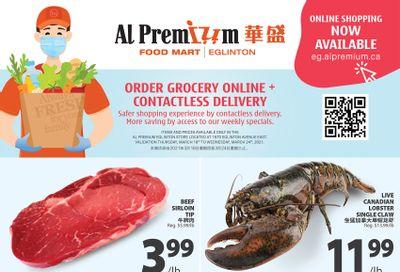Al Premium Food Mart (Eglinton Ave.) Flyer March 18 to 24