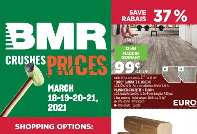BMR Flyer March 18 to 21
